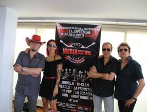 Presentación Iberia Festival en Benidorm 2013