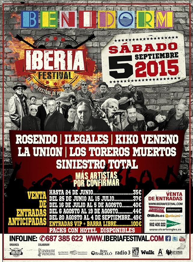 Cartel Iberia Festiv