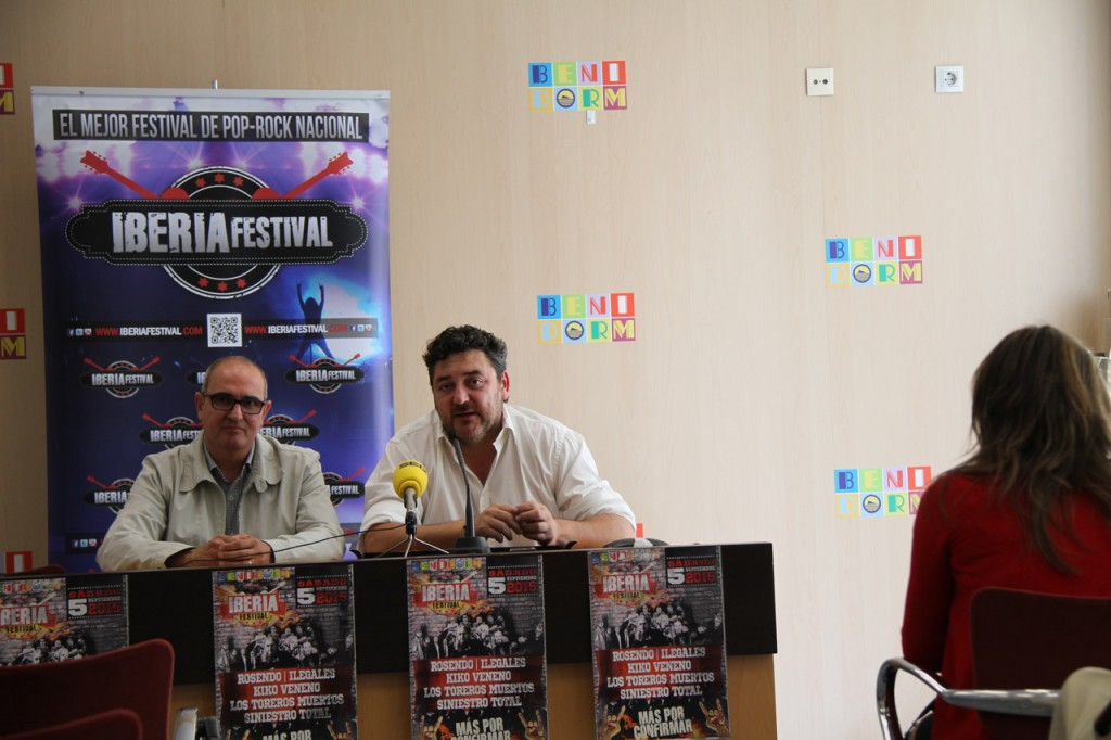 Rosendo, Kiko Veneno y Siniestro Total, en el Iberia Festival