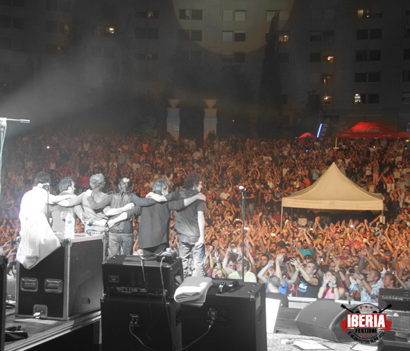 Duncan Dhu en Iberia Festival, Benidorm 2016.