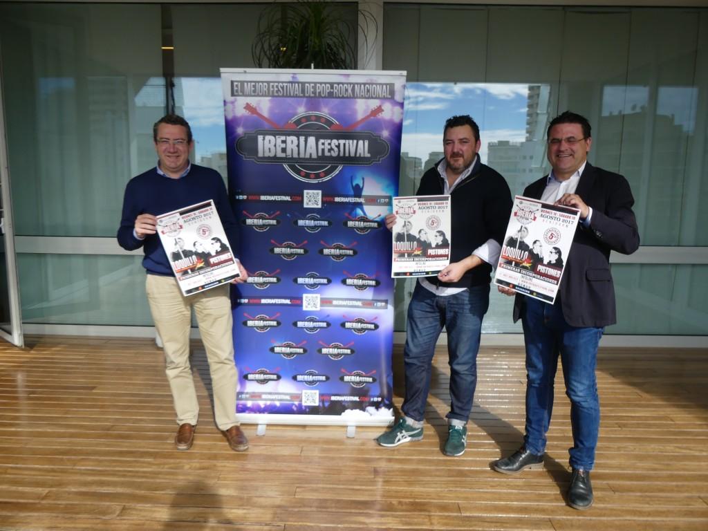 Rueda de prensa oficial Iberia Festival 2017