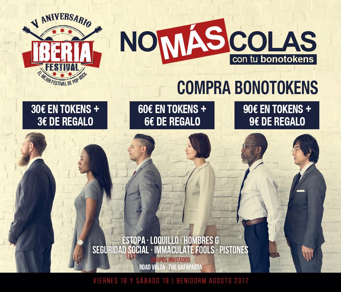 BONOTOKENS – IBERIA FESTIVAL 2017