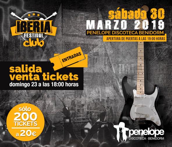 Iberia Festival Club | Confirmación fecha